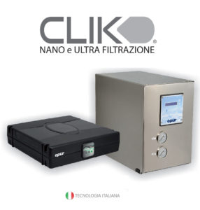 CLICK nano e ultra filtrazione
